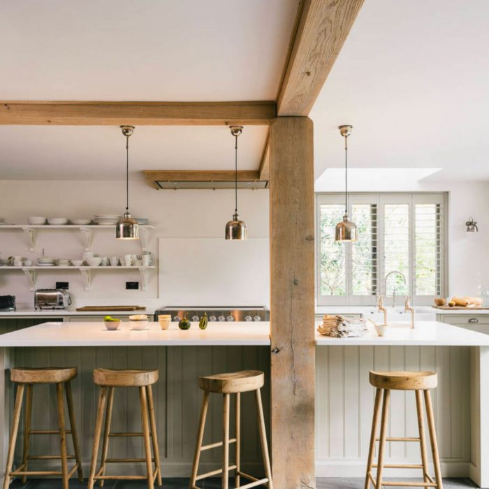 Inviting Country Kitchens