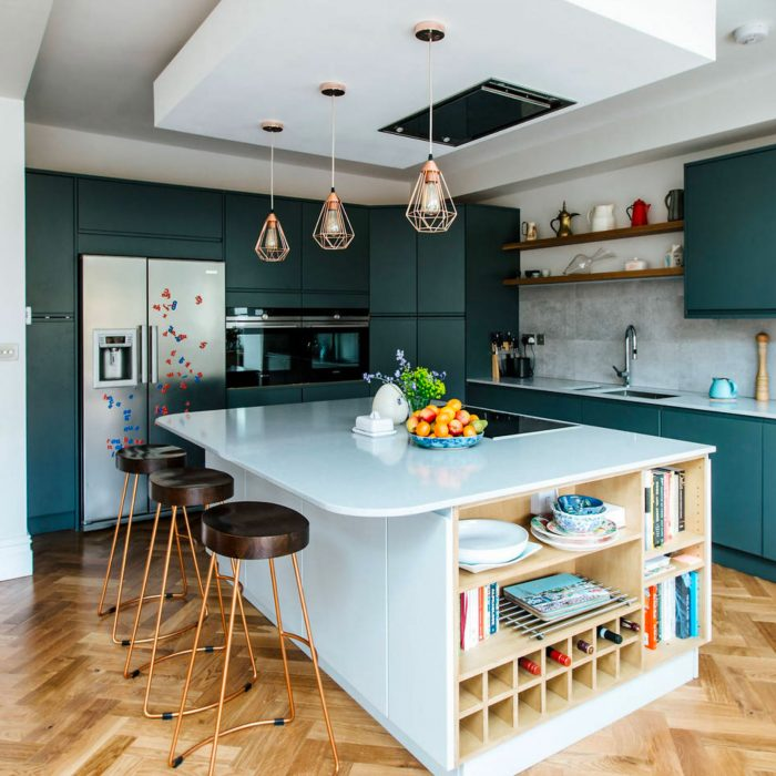 Brilliant Kitchen Island Storage Ideas